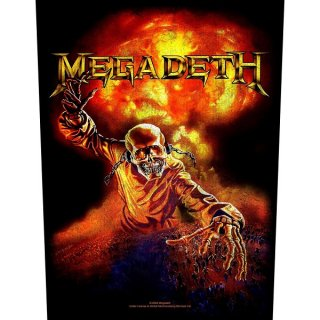 MEGADETH Nuclear, バックパッチ