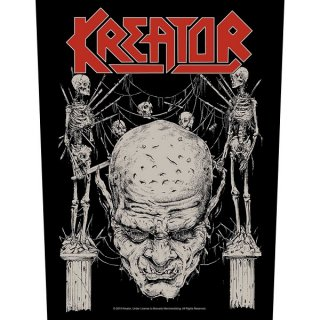KREATOR Skull & Skeletons, バックパッチ