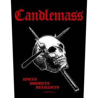 CANDLEMASS Epicus Doomicus Metallicus, バックパッチ