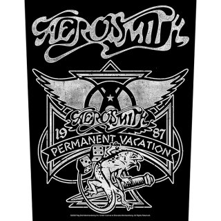 AEROSMITH Permanent Vacation, バックパッチ