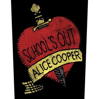 ALICE COOPER School's Out, バックパッチ