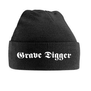 GRAVE DIGGER Logo, ニットキャップ