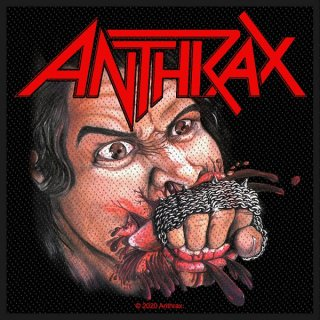 ANTHRAX Fistful Of Metal, パッチ