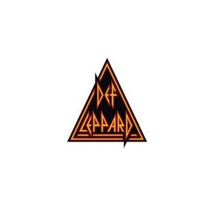DEF LEPPARD Logo Cut Out, パッチ