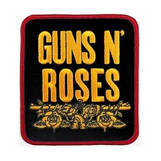 GUNS N' ROSES Stacked Black, パッチ