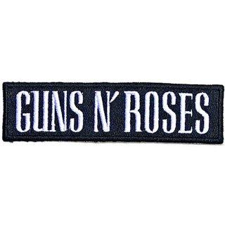 GUNS N' ROSES Text Logo, パッチ