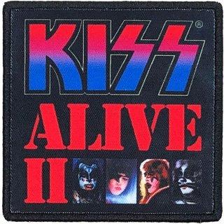 KISS Alive II Album Cover, パッチ