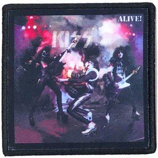 KISS Alive! Album Cover, パッチ