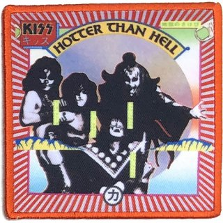 KISS Hotter Than Hell Album Cover, パッチ