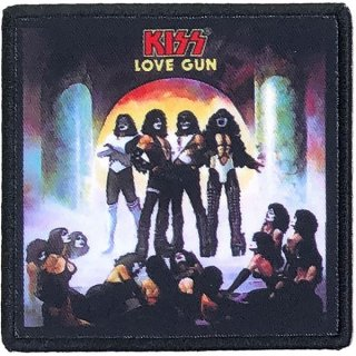 KISS Love Gun Album Cover, パッチ