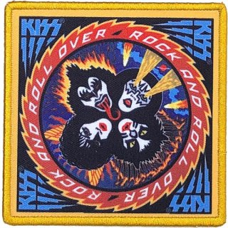 KISS Rock And Roll Over Album Cover, パッチ