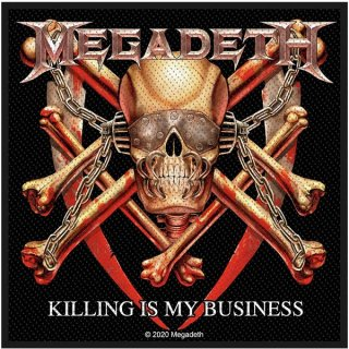 MEGADETH Killing Is My Business, パッチ