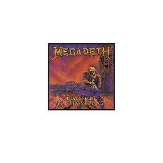 MEGADETH Peace Sells, パッチ
