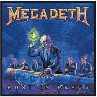 MEGADETH Rust In Peace, パッチ
