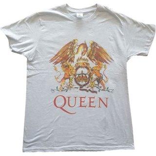 QUEEN Classic Crest Grey, Tシャツ