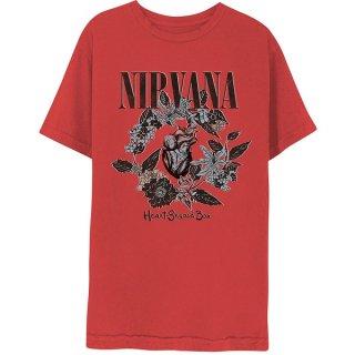 NIRVANA Heart-Shaped Box, Tシャツ