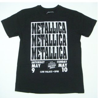 METALLICA Cow Palace, Tシャツ