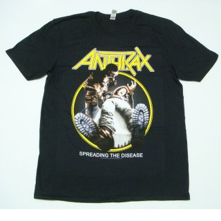 ANTHRAX Spreading The Disease Track List, Tシャツ