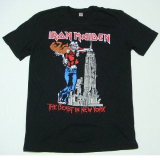 IRON MAIDEN The Beast In New York, Tシャツ