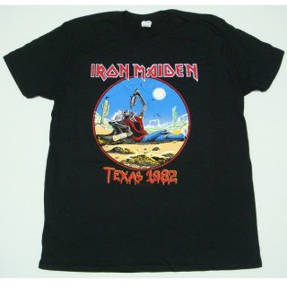IRON MAIDEN The Beast Tames Texas, Tシャツ