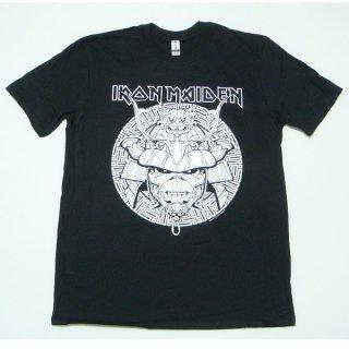 IRON MAIDEN Samurai Graphic White, Tシャツ