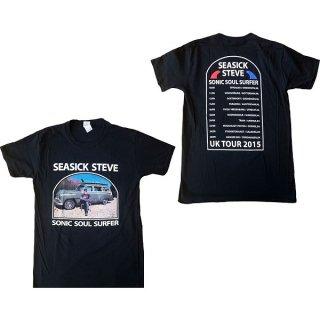 SEASICK STEVE Full Colour Sonic Soul Surfer, Tシャツ