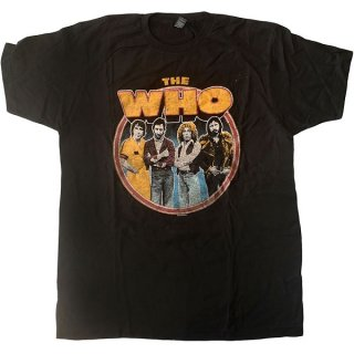 THE WHO Band Circle, Tシャツ