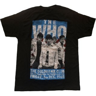 THE WHO The Goldhawk Club 1965, Tシャツ
