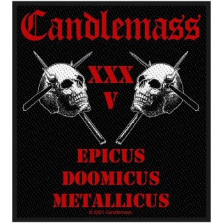 CANDLEMASS Epicus 35th Anniversary, パッチ
