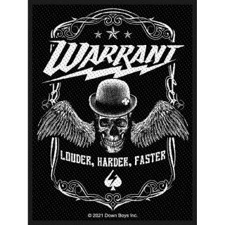 WARRANT Louder Harder Faster, パッチ