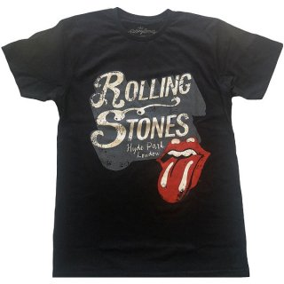 THE ROLLING STONES Hyde Park Blk, Tシャツ