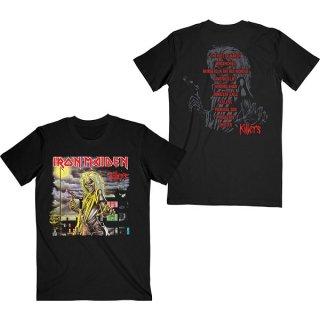 IRON MAIDEN killers V.2. Album Track List, Tシャツ