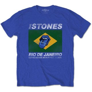 THE ROLLING STONES Copacabana Blue, Tシャツ