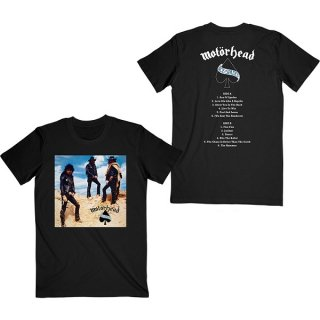 MOTORHEAD Ace Of Spades Track List, Tシャツ