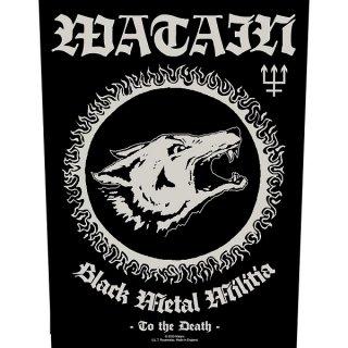 WATAIN Black Metal Militia, バックパッチ