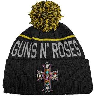 GUNS N' ROSES Cross, ニットキャップ