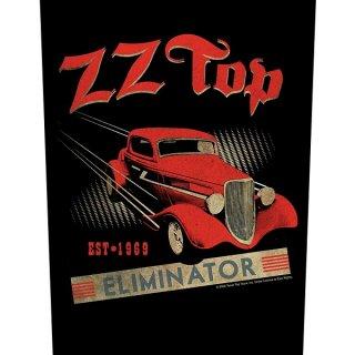 ZZ TOP Eliminator, バックパッチ