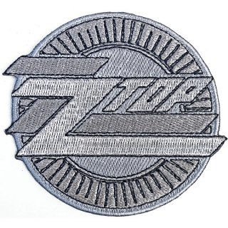 ZZ TOP Metallic Logo, パッチ