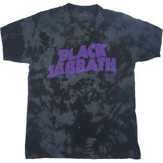 BLACK SABBATH Wavy Logo Dip-Dye, Tシャツ
