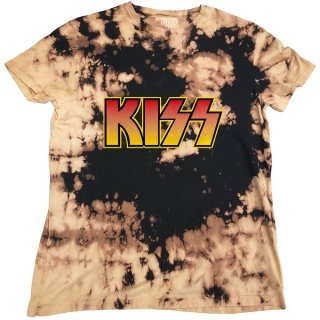 KISS Classic Logo Dip-Dye, Tシャツ