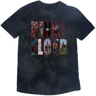 PINK FLOYD Echoes Album Montage Dip-Dye, Tシャツ