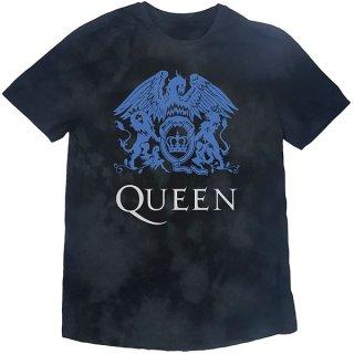 QUEEN Blue Crest Dip-Dye, Tシャツ