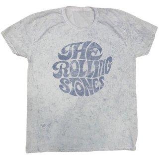 THE ROLLING STONES 70's Logo 2 Dip-Dye, Tシャツ