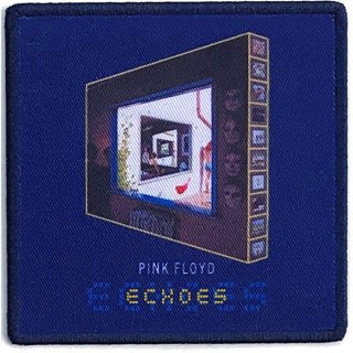 PINK FLOYD Echoes The Best Of… Album Cover, パッチ