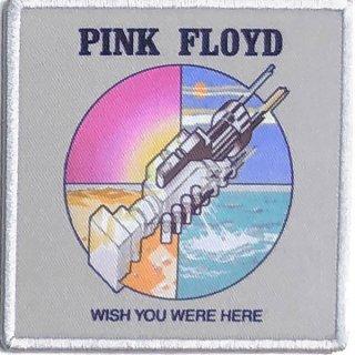 PINK FLOYD Wish You Were Here Original Album Cover, パッチ