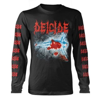 DEICIDE Once Upon The Cross Black, ロングTシャツ
