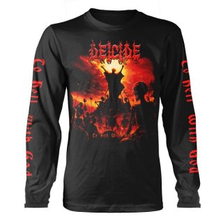 DEICIDE To Hell With God, ロングTシャツ