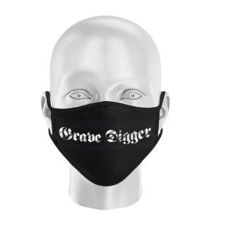 GRAVE DIGGER Logo, マスク