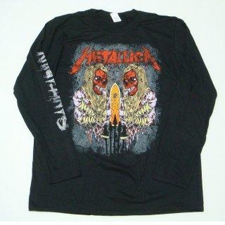 METALLICA Sanitarium Black, ロングTシャツ