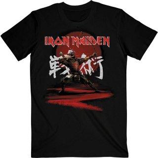 IRON MAIDEN Senjutsu Eddie Archer Kanji, Tシャツ